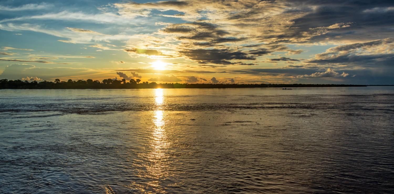 Amazon beautiful sunset