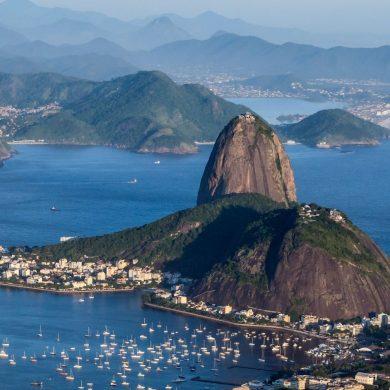 Baie de Rio de Janeiro vue Pain de sucre