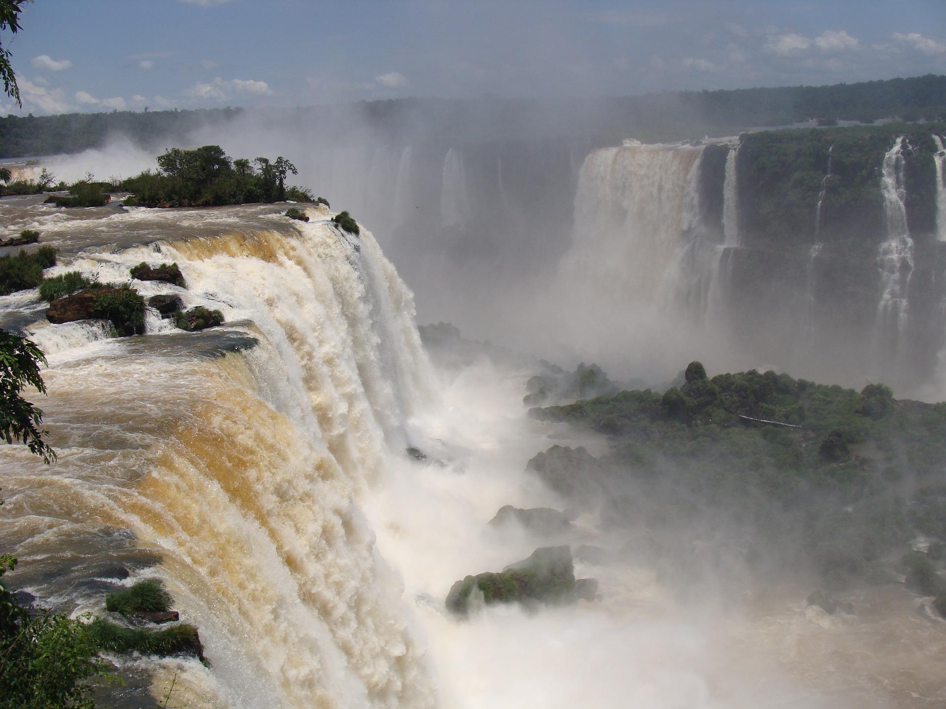 gorge du diable chutes brésiliennes Iguaçu