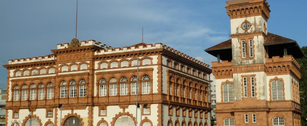 Manaus immeuble de la douane