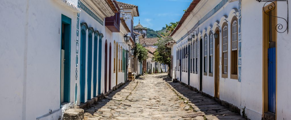 Paraty colonial architecture