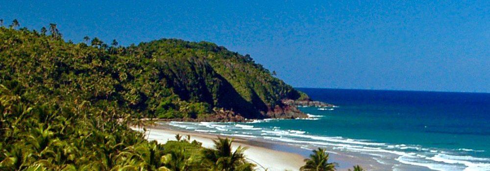 plage déserte Itacare