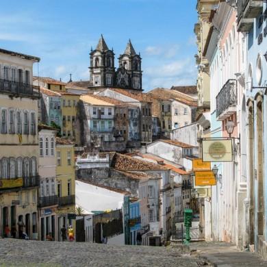 quartier du Pelourinho Bahia