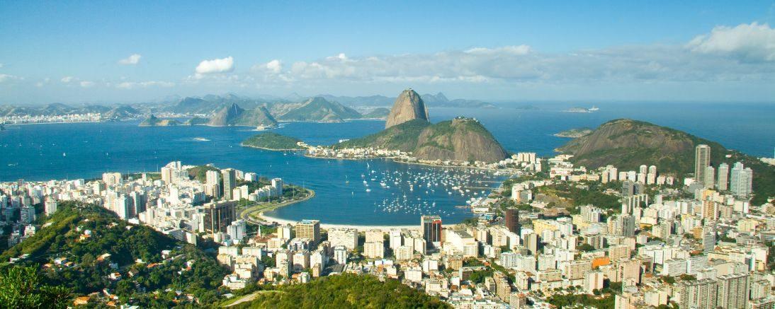Rio vue a'réienne