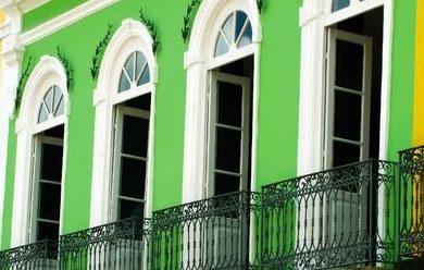 Salvador de Bahia fenêtres