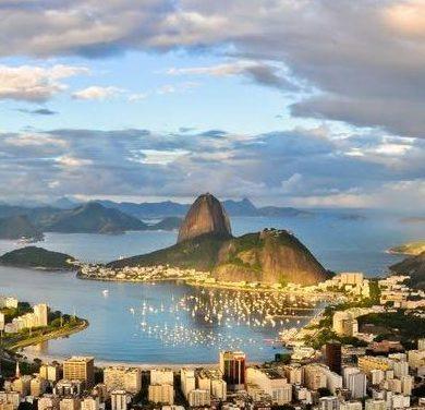 vue panoramique de Rio de Janeiro