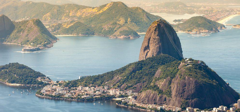 vue panoramique PAIN DE SUCRE RIO DE JANEIRO
