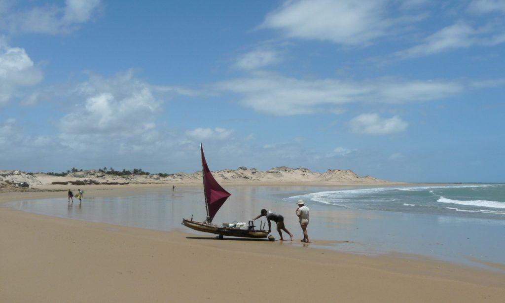 boat view at Guajiru
