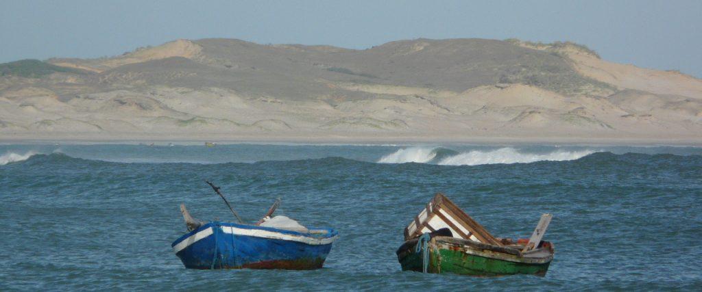 Jericoacoara view with boat