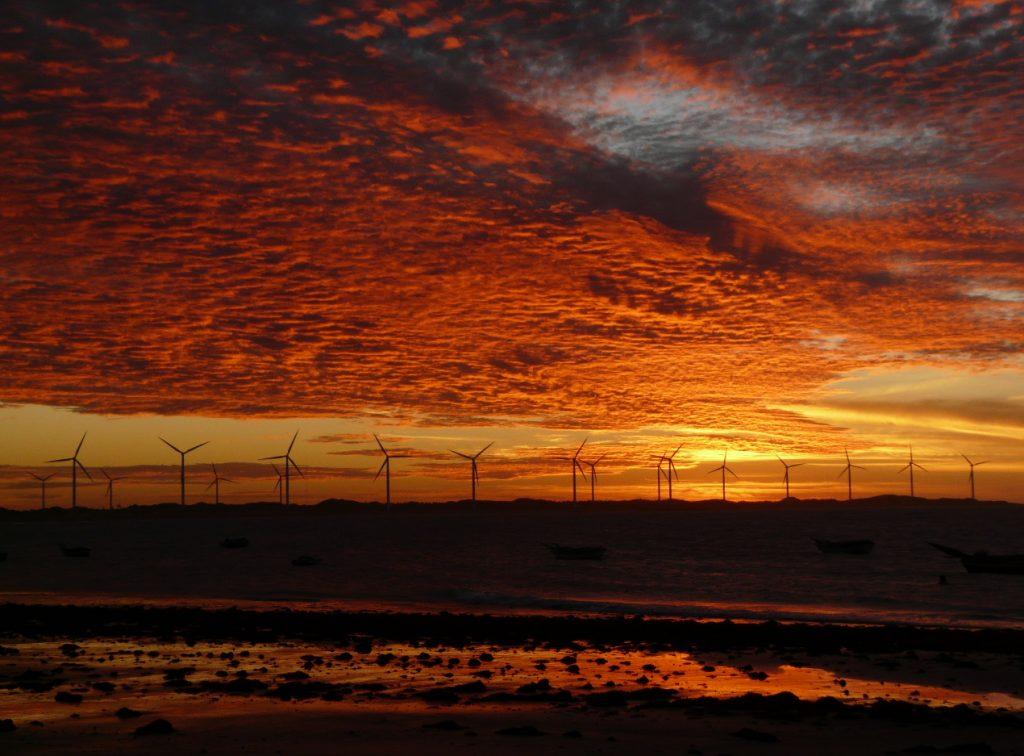 sunset Icarai Nordeste
