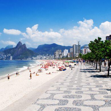 plage de Leblon Rio de Janeiro