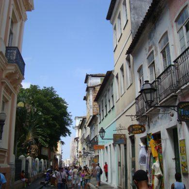 rue Afredo Brito Pelourinho Salvador