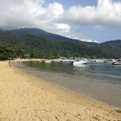vila do Abrao Ilha grande