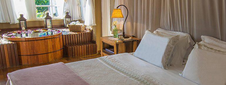ofuro chambre hotel Brisa da Serra Tiradentes