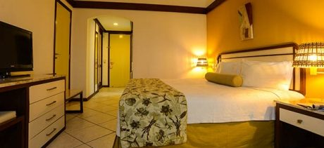 chambre lit double Hotel Grand Sao Luis