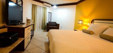 Chambre lit King size Hotel Grand Sao Luis