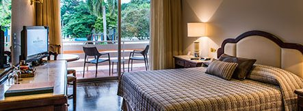 Chambre superiore vue piscine Hotel Bourbon Iguaçu