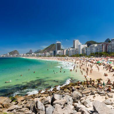 Rio de Janeiro fréquentation plage de Copacabana