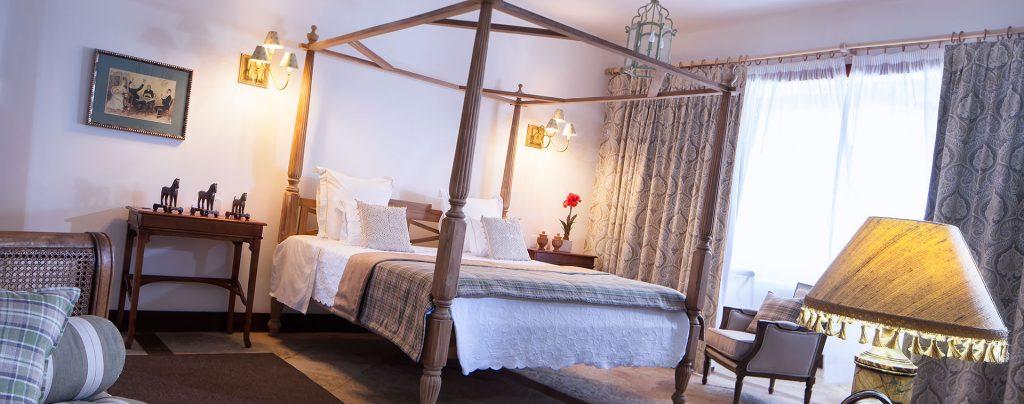 chambre coloniale hotel Casa de Santo Antonio
