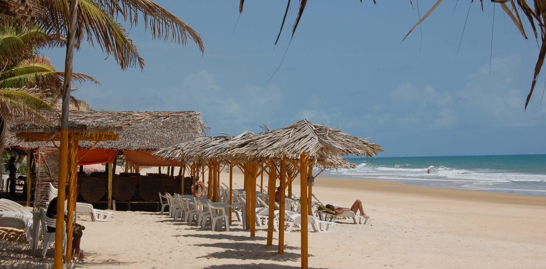 beach maceio-de-northeastern Brazil